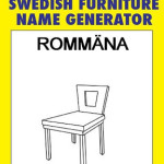 Swedish Furniture Name Generator – The Blogadilla