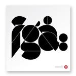 3 (different) points, geometric design