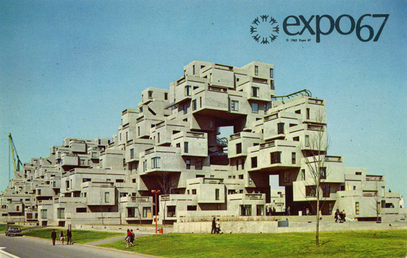 Expo 67 la76 lifestyle and architecture blog for Habitat 67 interieur
