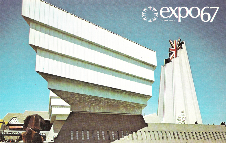 Expo 67 Great Britain Pavilion