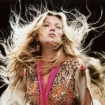 Kate Moss on world's first 3D fashion film: KM3D-1