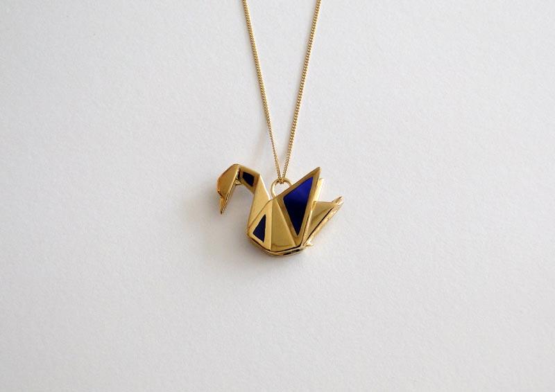 origami jewellery by claire amp arnaud la76 design