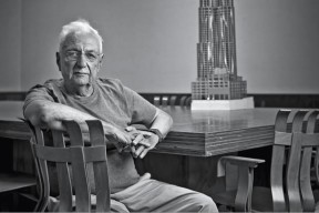"""When I interviewed Frank Gehry for HBR, he had recently bought an iPad. Every time he mentioned a building, he'd pick up the iPad and swipe until he came across a good photo to show me. This slideshow is an approximation of that experience: a sampling of Gehry's work, accompanied by his words."" Katherine Bell. Photo credit: Dave Lauridsen"