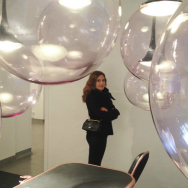 Nika Zupanc on show at Spazio Rosanna Orlandi during Milan Design Week 2012.
