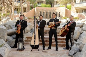 Mariachi band at Capella Pedregal, Cabo San Lucas, Mexico