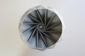 paper origami lampshade snowpuppe - LA76 blog 7