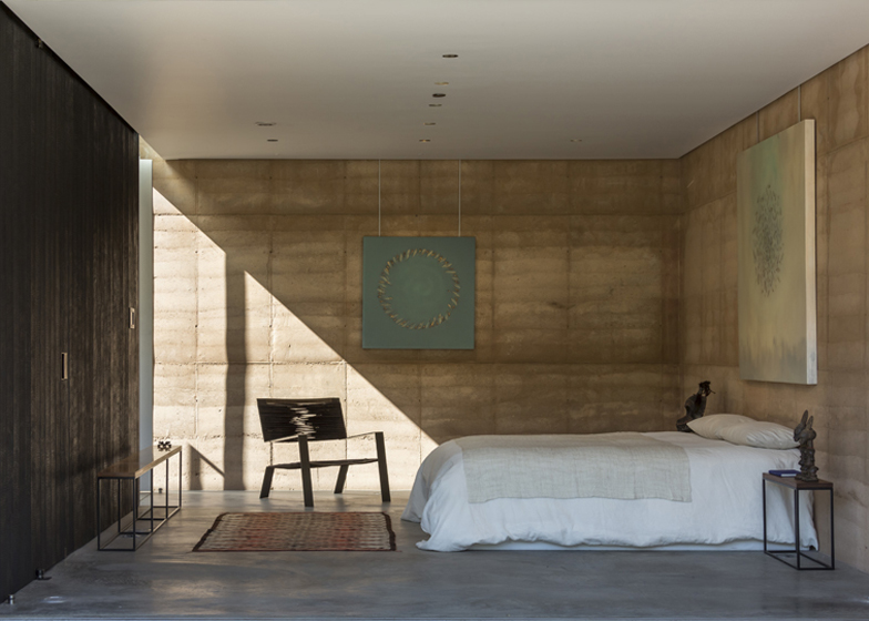 Rammed Earth House, The Tucson Mountain Retreat
