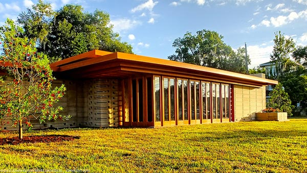Usonian Home Kitchen