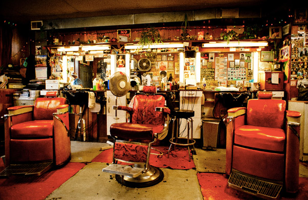 barber shops  usa la design travel blog