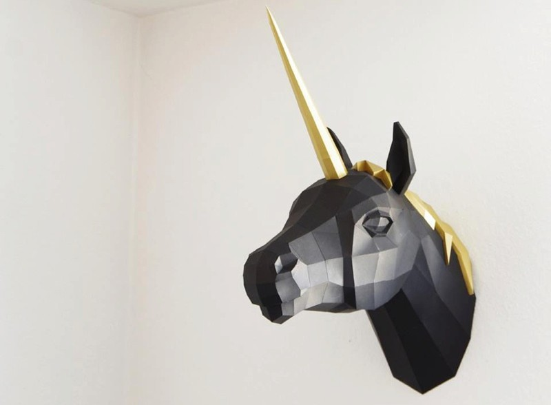 diy paper animal sculptures by paperwolf