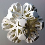Beautiful Paper Sculptures and Geometric Origami by Richard Sweeney