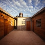 Rammed Earth Social Housing Project in Baja, Mexico