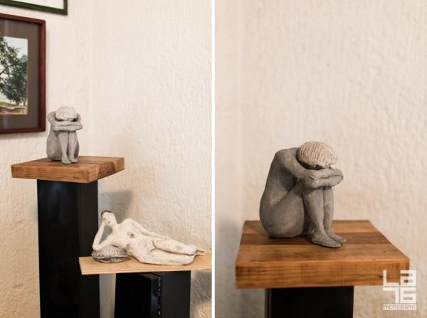 Sculptures by Irene Diez Perez.