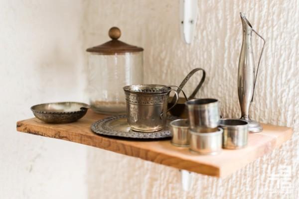 Silver coffee set.