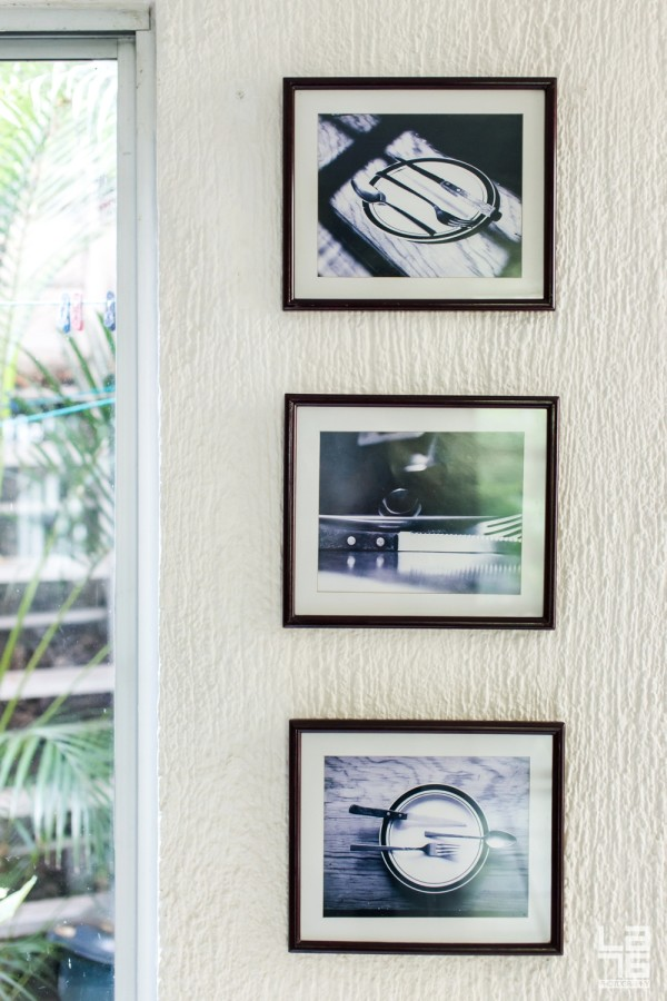 Mariano's brother Ruben's study of cutlery in photographs.