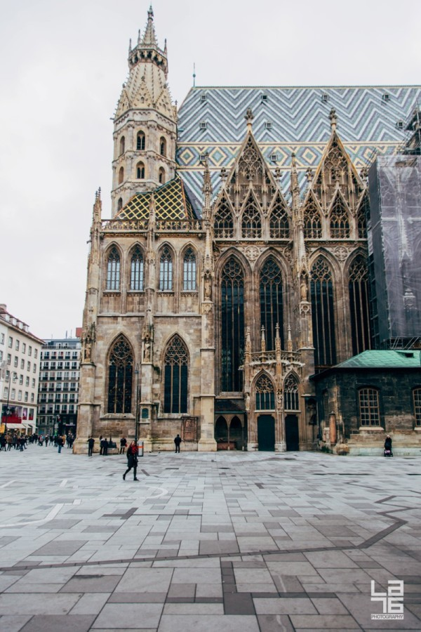 + Stephansdom, Vienna.